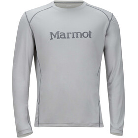 Marmot M's Windridge Graphic Longsleeve Bright Steel/Grey Storm